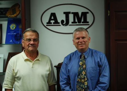 image of richard hart and gordon hudson of ajm